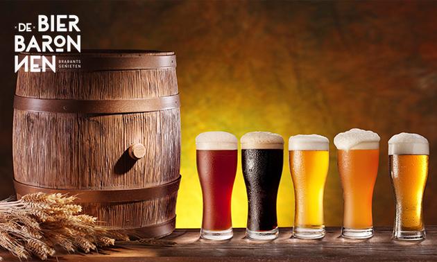 Bierproeverij + bittergarnituur bij De Baronnen