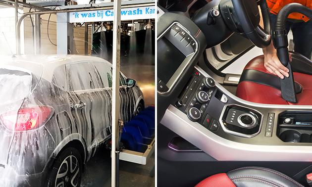 Luxe autowasbeurt bij Carwash Kampen