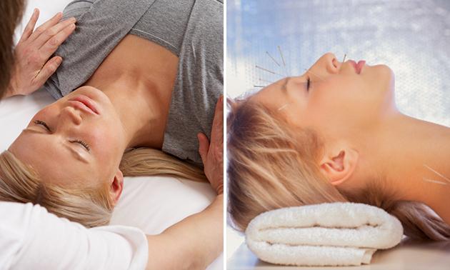 Acupunctuur of shiatsumassage (60 min)