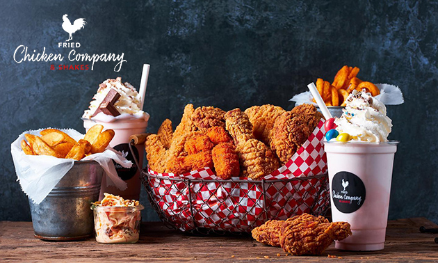 Waardebon van Chicken Company voor afhalen/bezorgen