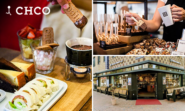 Afhalen: high tea bij Chocolate Company Café