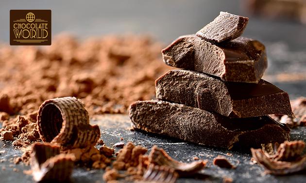 Waardebon voor bij Chocolate World