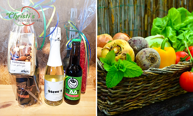 Waardebon voor groente, fruit, streekproducten en meer