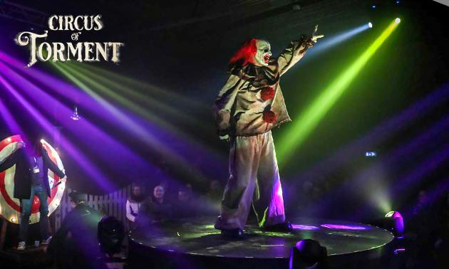 Ticket voor het Circus of Torment + fotomoment