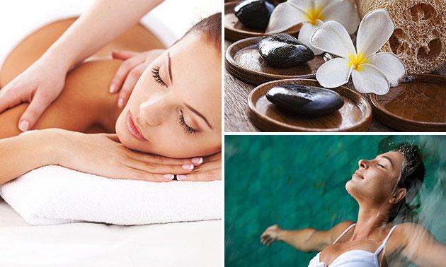 Floaten (60 min) + drankjes + evt. massage