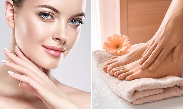 Pedicurebehandeling of gezichtsbehandeling