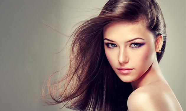 Keratinebehandeling voor het haar