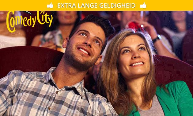 Entree voor comedyclub ComedyCity in hartje Den Haag