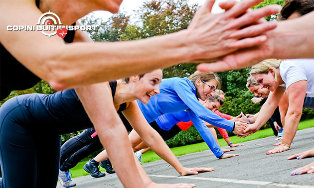 10-rittenkaart voor bootcamp, survivalrun of fitness