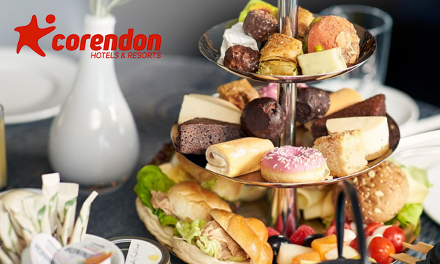 High tea bij Corendon