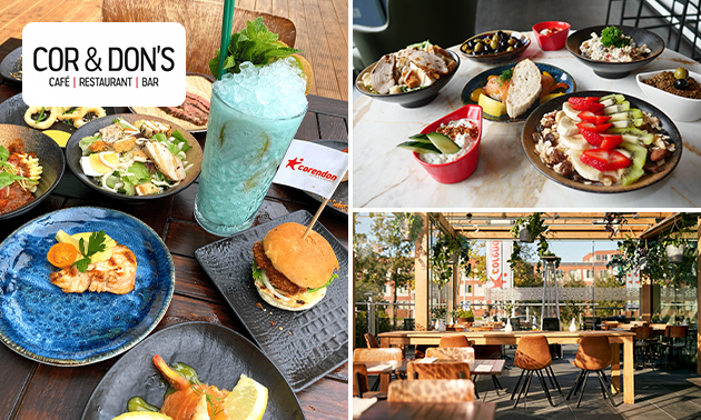 All-You-Can-Eat lunch op het terras bij Corendon City Hotel