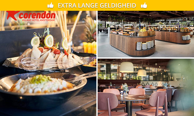 All-You-Can-Eat & Drink (2,5 uur) bij Corendon