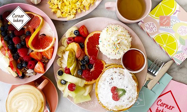 Afhalen: ontbijt- of zoetighedenbox