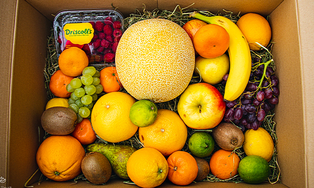 Thuisbezorgd: fruitbox met 30 stuks fruit