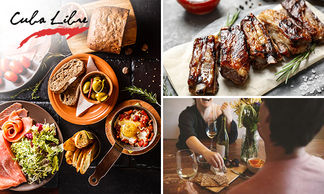 Afhalen: tapasbox of spareribs + wandelroute