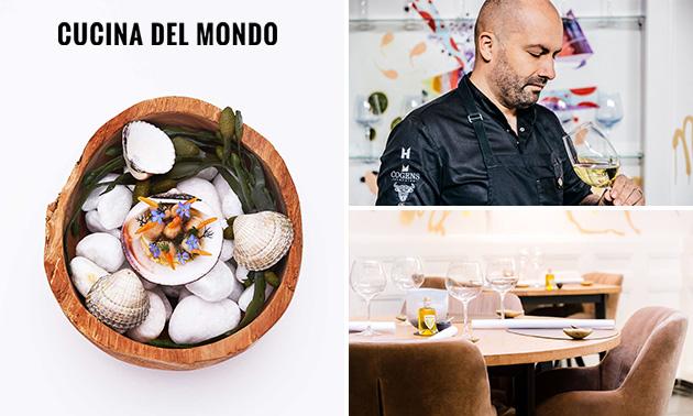 Cucina del Mondo, 6-gangendiner bij Cucina del Mondo: bespaar 37% in ...