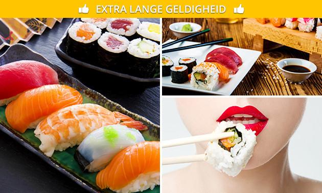 Sushi (12 of 32 stuks) bij Daisuki Sushi
