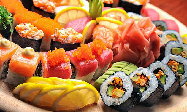 Afhalen: sushibox (22, 42 of 44 stuks) van Daisuki Sushi