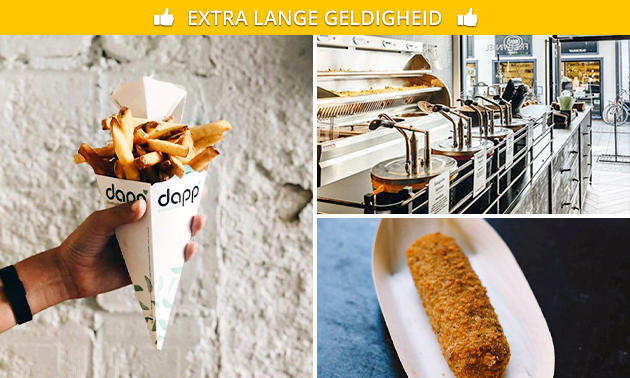 Friet + snack bij Dapp Frietwinkel