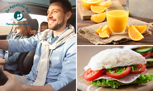 Autopuzzeltocht + lunch to go bij De Appelsche Hof