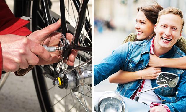 Onderhoud en accessoires scooter of fiets