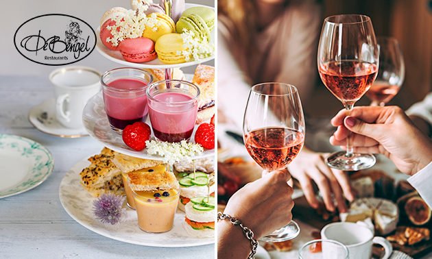 High tea of high wine bij De Bengel