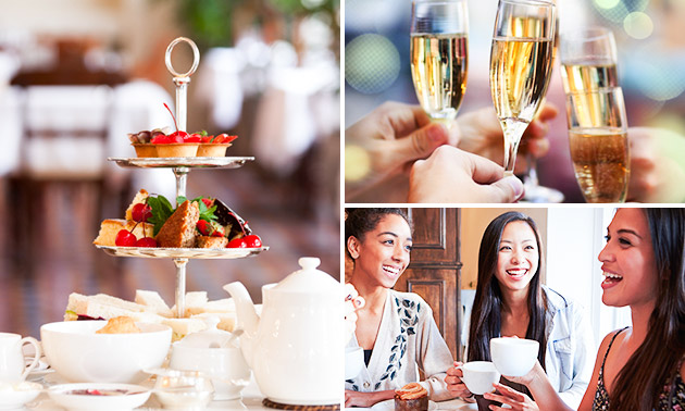 High tea + bubbels