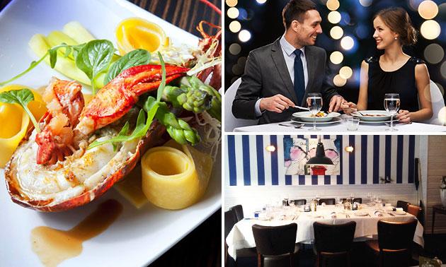 De Eetkamer Cuisine de la Mer, Culinair 4- of 5-gangendiner ...