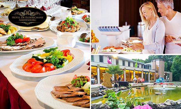 All-You-Can-Eat ontbijt, lunch of diner bij De Elderschans