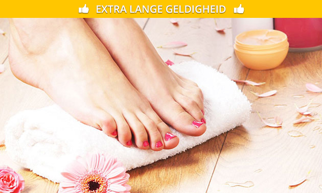 Pedicurebehandeling (40 of 60 min)