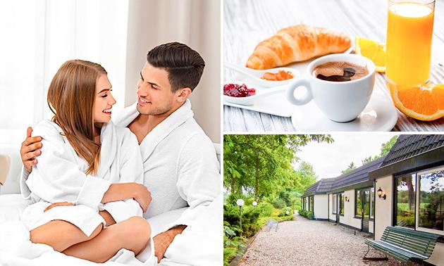 Overnachting + ontbijt voor 2 nabij Apeldoorn