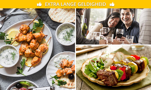 Mixed grill + friet + salade bij De Griek Gouda