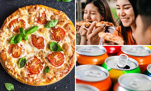 Afhalen: pizza naar keuze + drankje in hartje Nijmegen