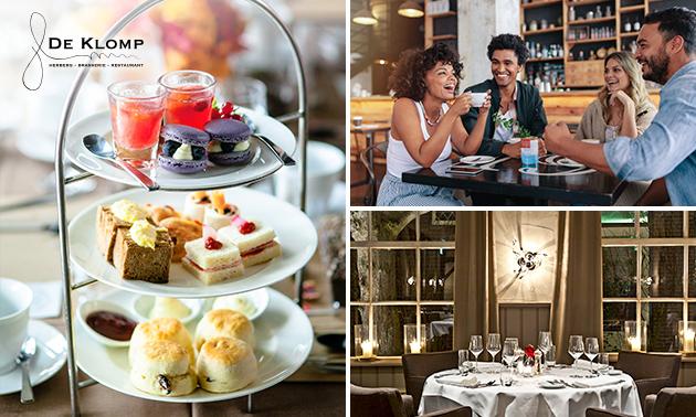 Afhalen: luxe high tea + flesje bubbels bij De Klomp