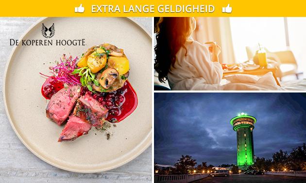 Voor 2 personen: luxe overnachting + bubbelbad + diner