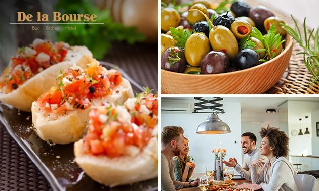 Thuisbezorgd of afhalen: 3-gangen shared dining