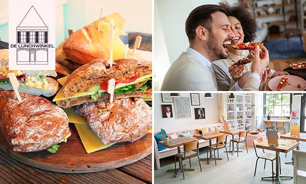 Afhalen: 2- of 3-gangen keuzelunch bij De Lunchwinkel