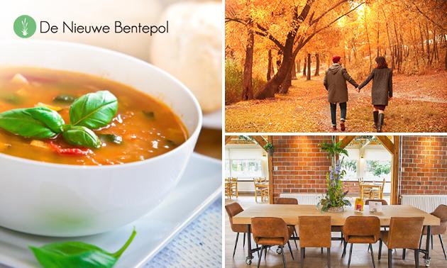 Wandelarrangement + lunch bij De Nieuwe Bentepol
