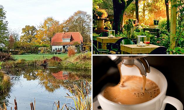 Entree tuin + koffie/thee + lekkernij voor 2
