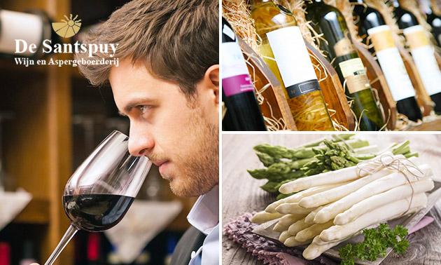 Afhalen: diner + wijn bij De Santspuy