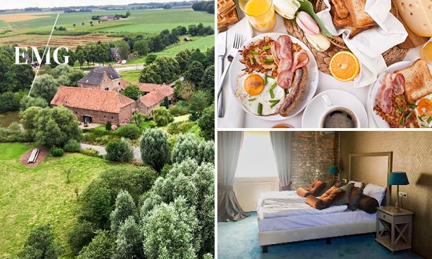 Overnachting(en) + ontbijt voor 2 in Limburg