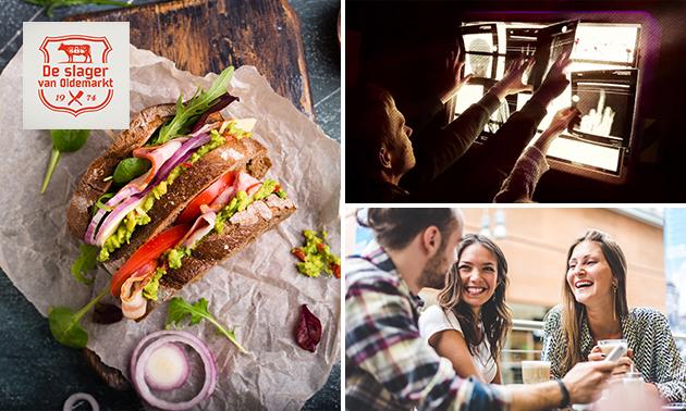 Escaperoom + lunch bij De Slager van Oldemarkt