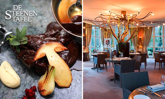 Culinair 6-gangendiner bij De Steenen Tafel