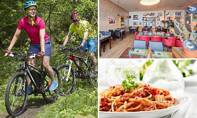Mountainbike-arrangement + maaltijd