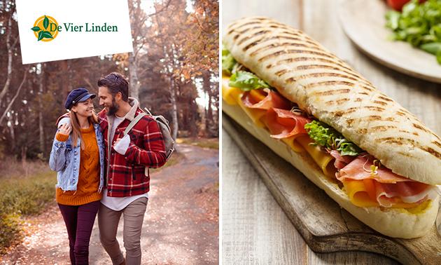Wandelarrangement + lunch bij De Vier Linden
