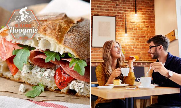 Lunchgerecht naar keuze bij De Vlaamse Hoogmis