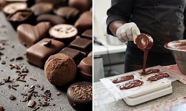 Workshop bonbons maken + koffie/thee + lekkers