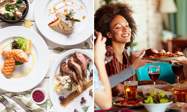 3-gangen sharing diner bij De Vriendschap