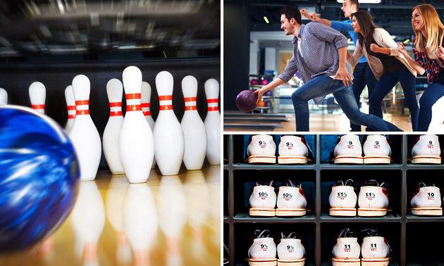 1 uur bowlen voor 7 personen
