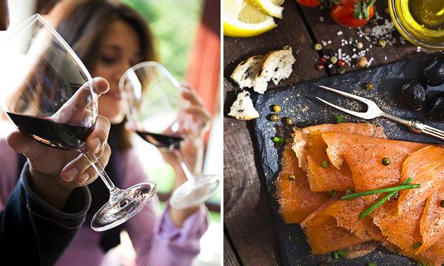 Wijn-spijsbeleving (2,5 à 3 uur)